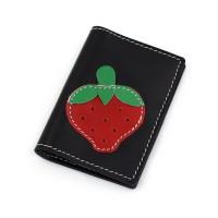 Jagoda - crni novčanik/futrola za kreditne kartice