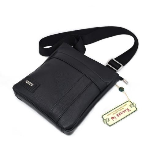 Muška kožna torbica - Model 501 Crna