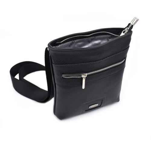 Muška kožna torbica - Model 503 Crna