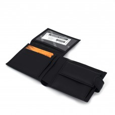 Muški kožni novčanik - Model 129 Crni sa kopčom