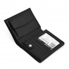 Muški kožni novčanik - Model 153 crni