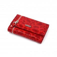 Crveni lak kroko ženski kožni novčanik - Model 236