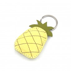 Kožni privesak ananas