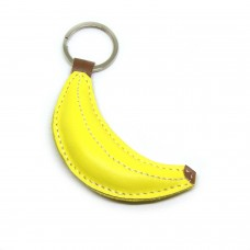 Kožni privesak banana