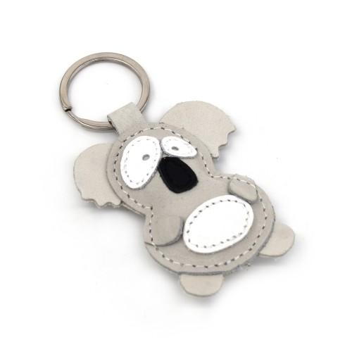 Koala kožni privezak za ključeve