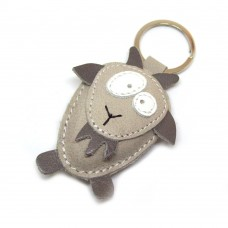 Koza kožni privesak za ključeve