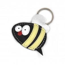 Pčelica kožni privesak za ključeve