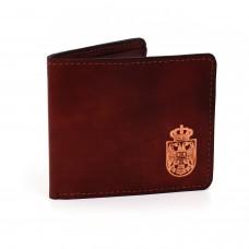 Kožni novčanik sa grbom Srbije